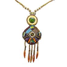 2015 nuevo collar de ámbar y collar venta al por mayor y de la media luna luna colgante , collar
