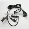 Black air Tube Headset Earphone for Motorola RELM RPU416 RPV516 Two Way Radio