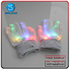 Comfortable colorful safety led working gloves