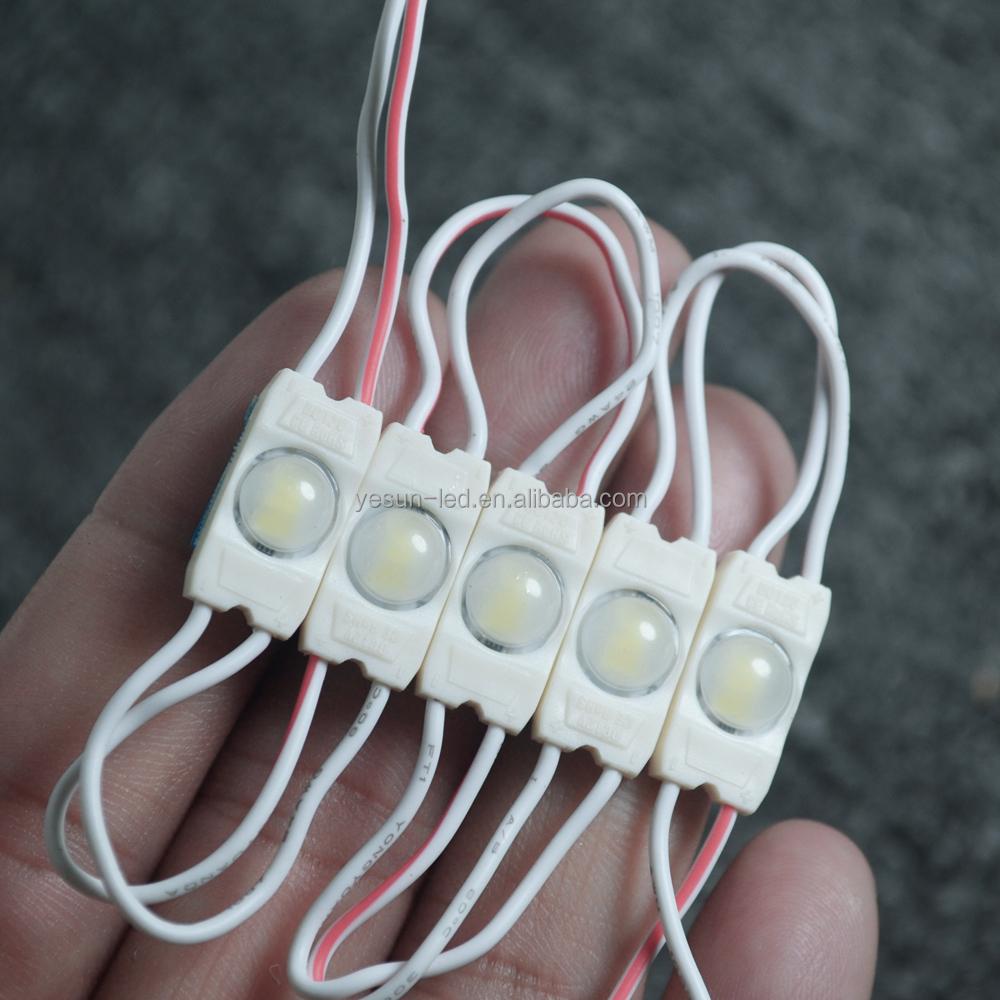 ETL de alta calidad Lente pequeño módulo llevado Impermeable con ABS inyección llevó el módulo 12 v 3014-3LED
