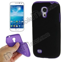 Wholesale Silicon+PC Back Case for Samsung Galaxy S4 Mini i9190, for Samsung Galaxy S4 Mini Case Cover