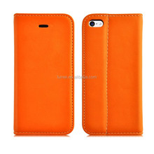 Factory Price Brand New Wallet Leather Stand Cell Phone Case For Apple Iphone 5s