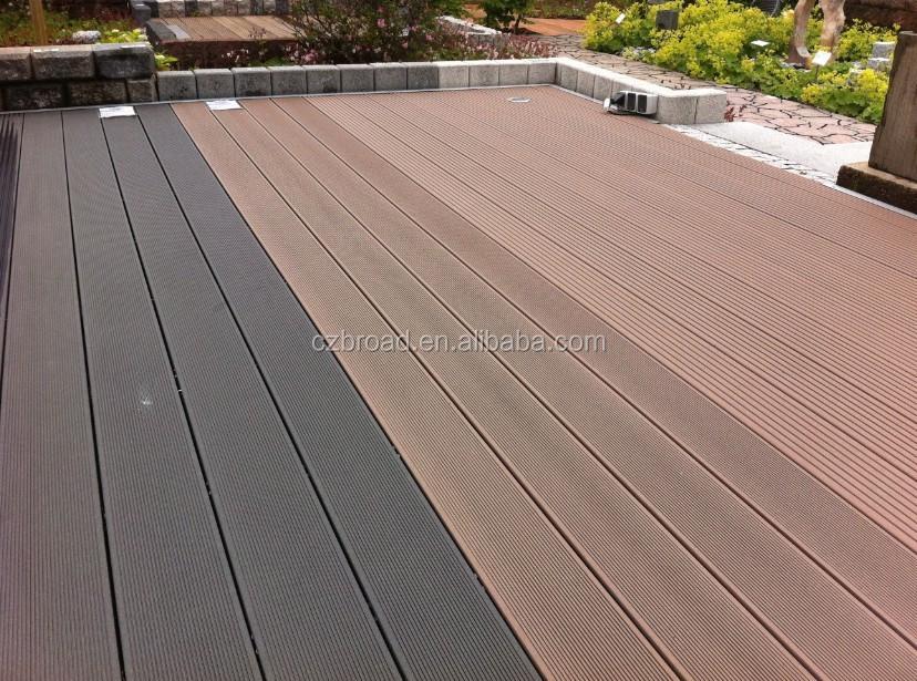 decking buy waterproof flooring outdoor decking wpc hollow deck
