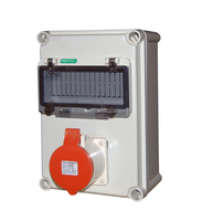 TIBOX 2014 CEE/IEC 2P+E(3P) IP67 electric plug socket box