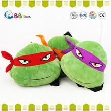 2015 new hot sales Teenage Mutant Ninja Turtles toy backpack ,plush animal toys for sales