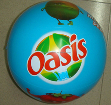 Wholesale Custom Inflatable branded Beach Balls In Bulk