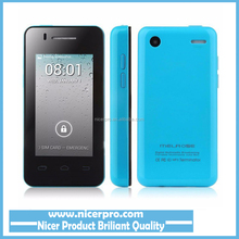 MELROSE Android S1 V002 MP3 Terminator Mini Android 4.2.2 MTK6572 1.0GHz Dual Core 512MB/256MB 2.4 Inch Cell Phone