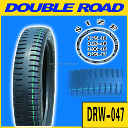 Free sample motorcycle tire made in China factory 275-17 for South America market