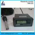 Medidor de resistência elétrica, de água medidor de resistividade, rm-220