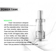 Newest Launched electronic cigarette Vapor kit kamry power tank airflow control 510 vaporizer out burning taste