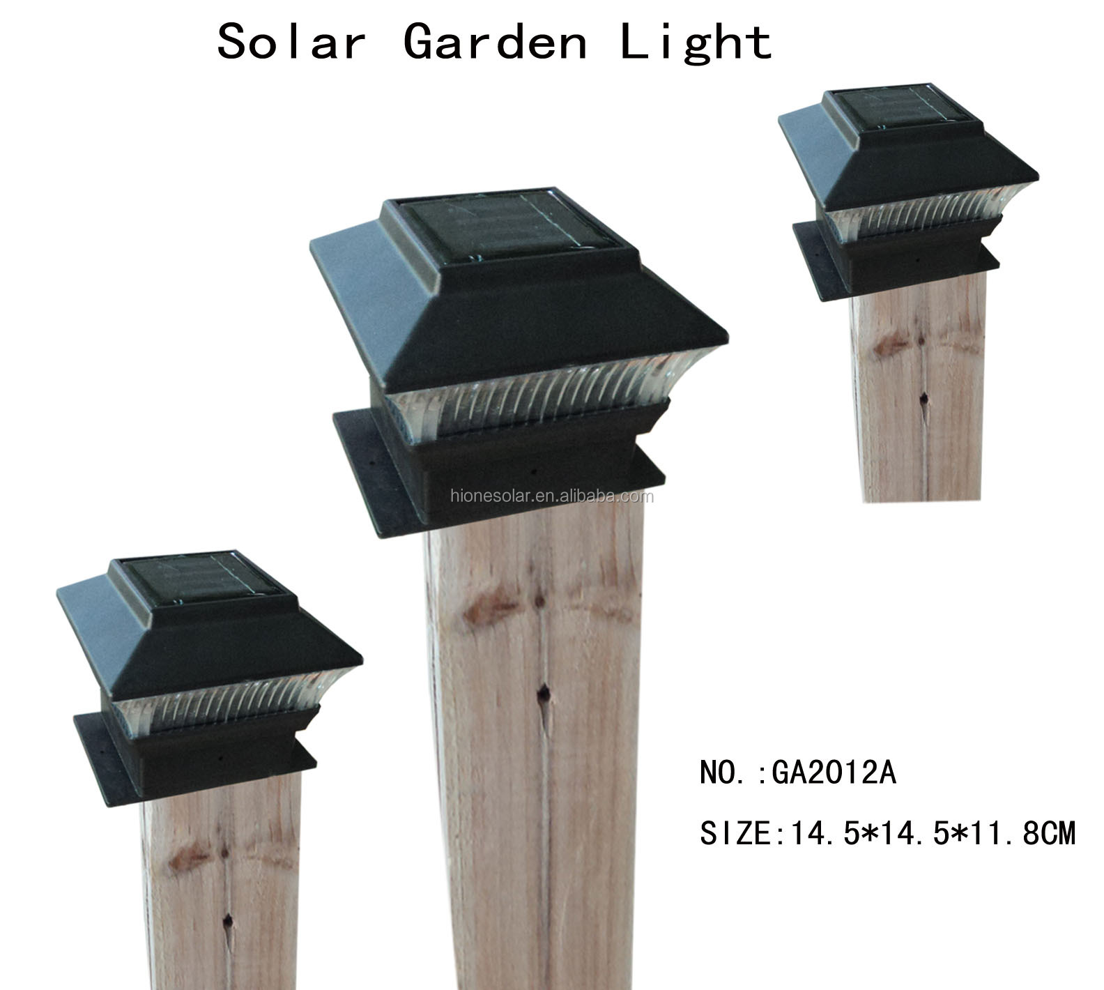 outdoor garden solar led post deck cap square solar fence post lights buy solar fence post. Black Bedroom Furniture Sets. Home Design Ideas