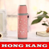 2015 Hot sell 0.45l & 16oz plastic vacuum flask water jug thermos