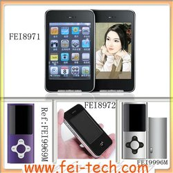 """2.8"""" Touch Screen Mp4 Player"""