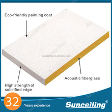 China Soundproof fireproof fire rated ceiling tile