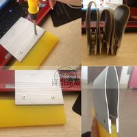 Aluminum handle screen printing squeegee aluminum handle duro squegee