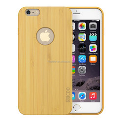 Fashion design Luxury bamboo cover for iPhone 6 plus wood case