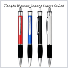 Promotional custom push metal ball pen