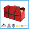 Carry firewood easily from outside to inside Made with durable canvas and reinforced handles Black canvas body
