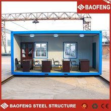 low cost prefabricated living insulated prefabricated container house for sale