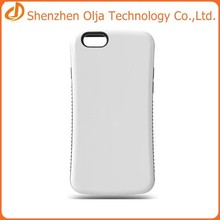 2015 Olja hot sell tpu pc cell phone case for iphone 6