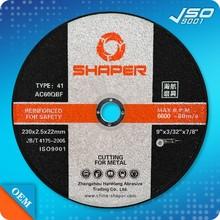 Hot sale cutting wheel 105x1.0x16mm