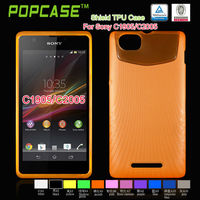 TPU mobile phone cover for sony xperia m c1905 c1904