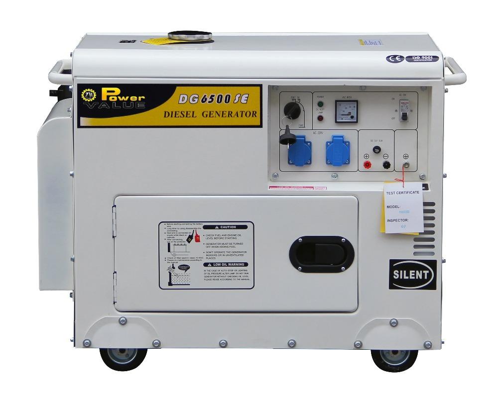 Genour Power 4kva Home Standby Diesel Generators