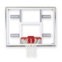 "Gared 48"" x 72"" Steel Framed Glass Basketball Backboard 201Pounds Steel Framed Glass Basketball Backboard"