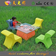 Children chair furniture, Small plastic children furniture, kids plastic outdoor furniture