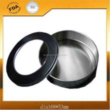 Round Gifts Tin Box with PVC Window