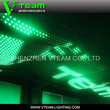 flexible led curtain screen stage background xxx video screen led mesh video screen