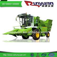 Rango de trabajo 2600 mm combinan mazorca de maíz cosechadora