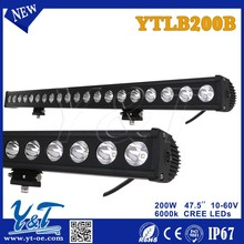 Y&T 2015 new hot product aluminum profile for led light bar, police emergency led light 4WD auto parts LED light bar for TOYOTA