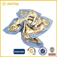 twill silk scarf 90x90