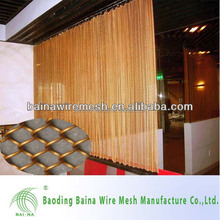 Fashionable Architectural Metal Decorative Curtains