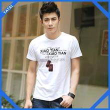 popular market selling mens o-neck band t shirts