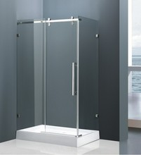 China thin tempered glass bathroom accessories STAINLESS STEEL PROFILES China supplier enclosure