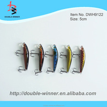 With VMC hooks Various size small fishing lure