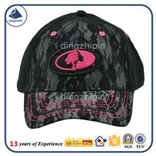 Fashionable lace ladies performance baseball hat