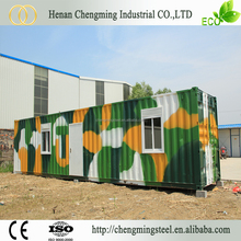 civil construction stable prefabricated light steel structure living container house