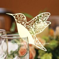 Unique Candy Wedding Place cards Shaped of Flying Bird EC1108-14