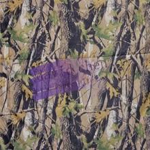Nylon cordura camuflaje verdadera tela de tejido de madera de la tela de camuflaje