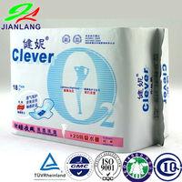2015 cotton ladies sanitary pads making machine