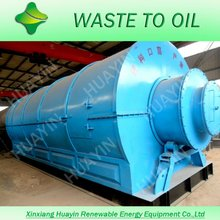Plastic Scrap Recovering To Diesel Machinery, Plastic Pyrolysis Plant Q345R Reactor