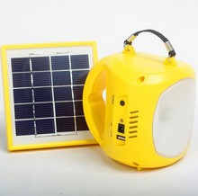 powerful led solar pendant camping lamp with Poly silicon solar panel SN-SLY616