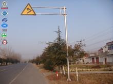 Acier marquage routier guiding extérieure imprimable coloration panneaux de signalisation
