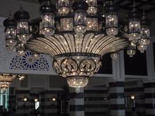 Fancy big crystal ROHS CE UL modern chandelier