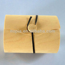 2014 new design recycled wood snack packing (ISH-693)