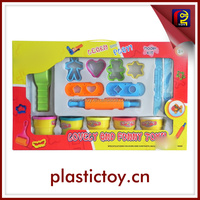 kid color clay play dough with plastic container INC175762
