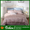 Item No.D-173 80S*100S 1000TC Jacquard 100% Egyptian Cotton Cross Stitch Bed Sheet